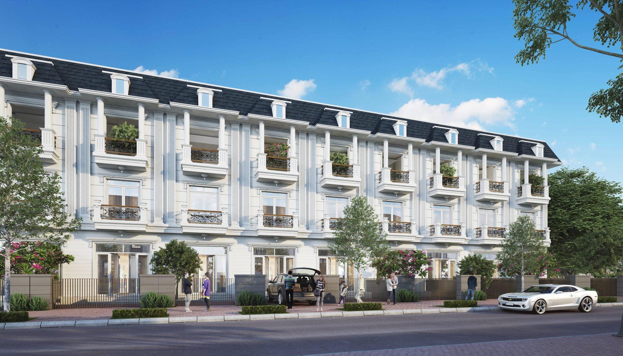 Nhà phố dự án Tân Phước Center