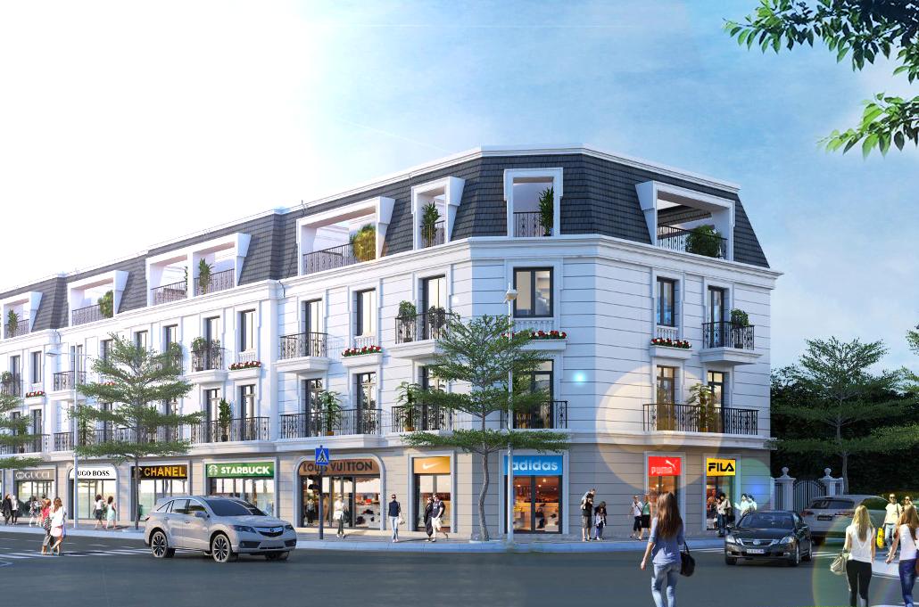 Phối cảnh dự án đất nền Tân Phước Center Bình Phước