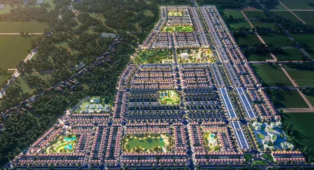 Dự án khu đô thị Gem Sky World Long Thành