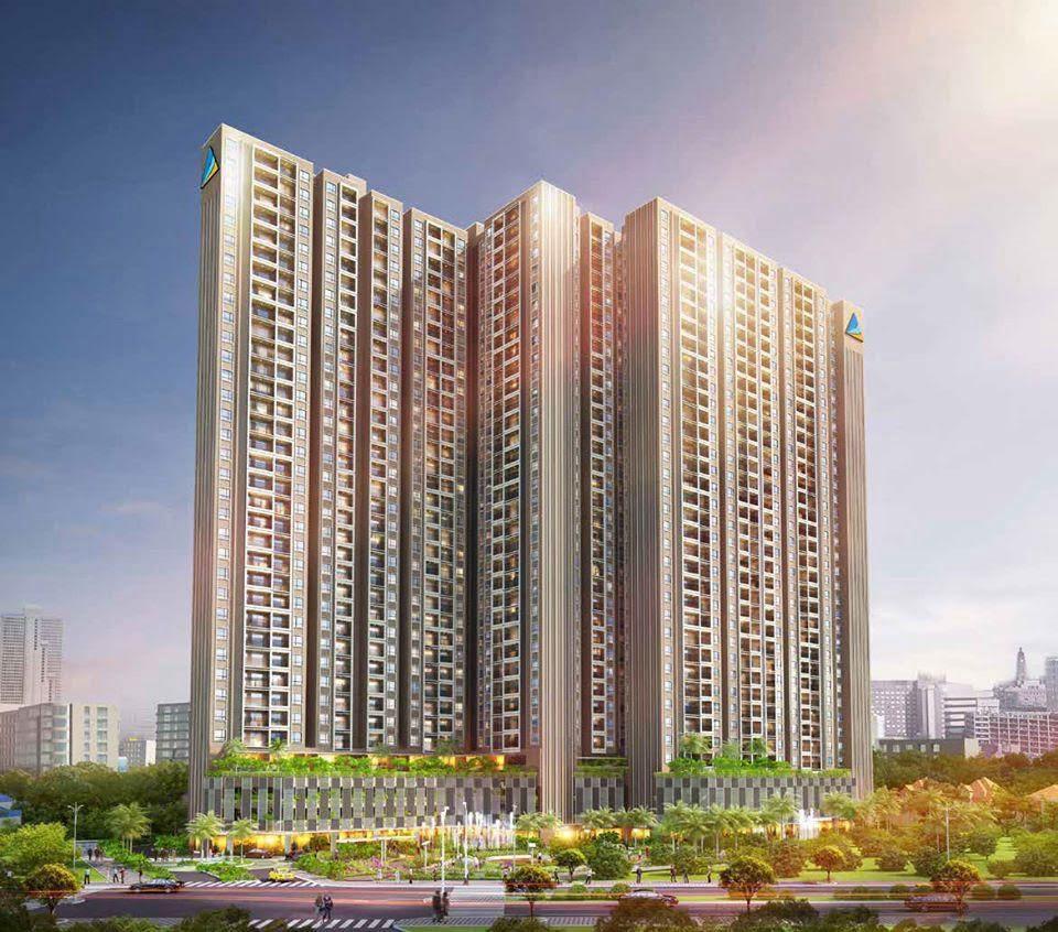 Dự án căn hộ chung cư Opal Skyline Đất Xanh Thuận An Bình Dương